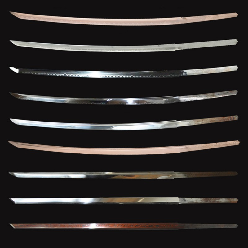 Hand Made Real Blades for Japanese Samurai Sword Katana