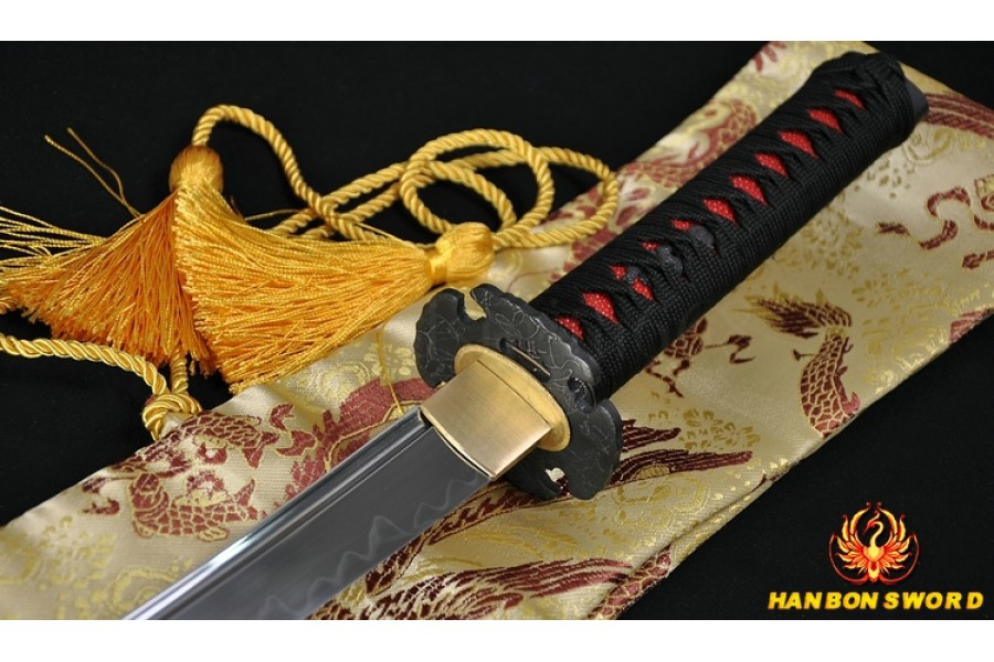 1095 high carbon steel Japanese Samurai Sword Wakizashi