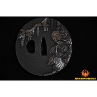 JAPANESE BLACK KATANA SWORD Oil Quenched FULL TANG BLADE