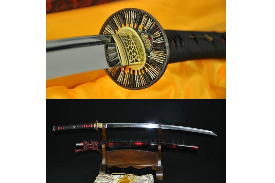 VERY SHARP REVERSE-EDGED SWORD HIGH QUALITY JAPANESE SAMURAI SWORD SAKABATO