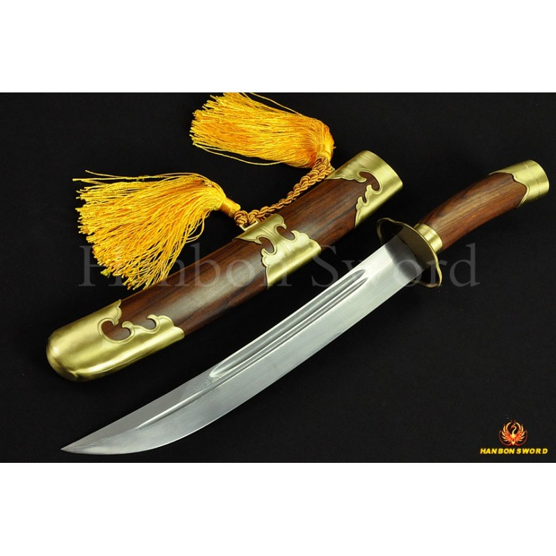 HIGH QUALITY HAND MADE CHINESE SWORD QIN DAO FOLDED STEEL BLADE