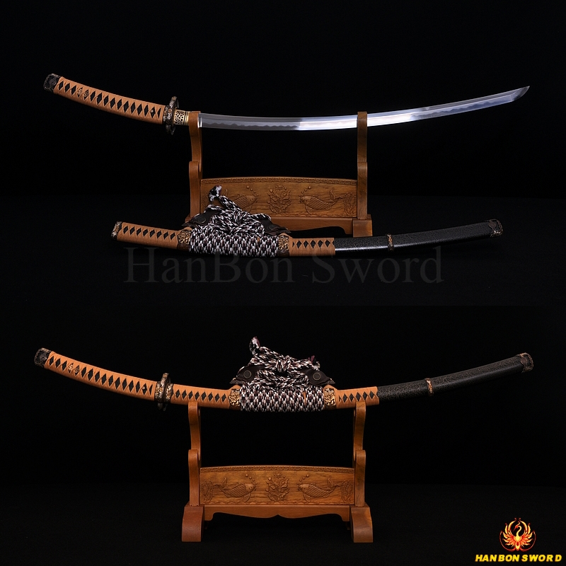JAPANESE TACHI SWORD BATTLE READY HAZUYA POLISH POLISHING