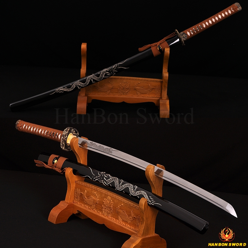 Hand Forge Dragon Katana Japanese Samurai Sword very sharp