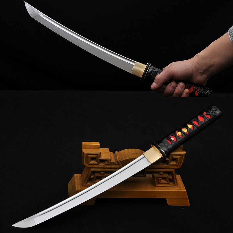 Hand Forge Tanto Japanese Samurai short knife sword Very Sharp