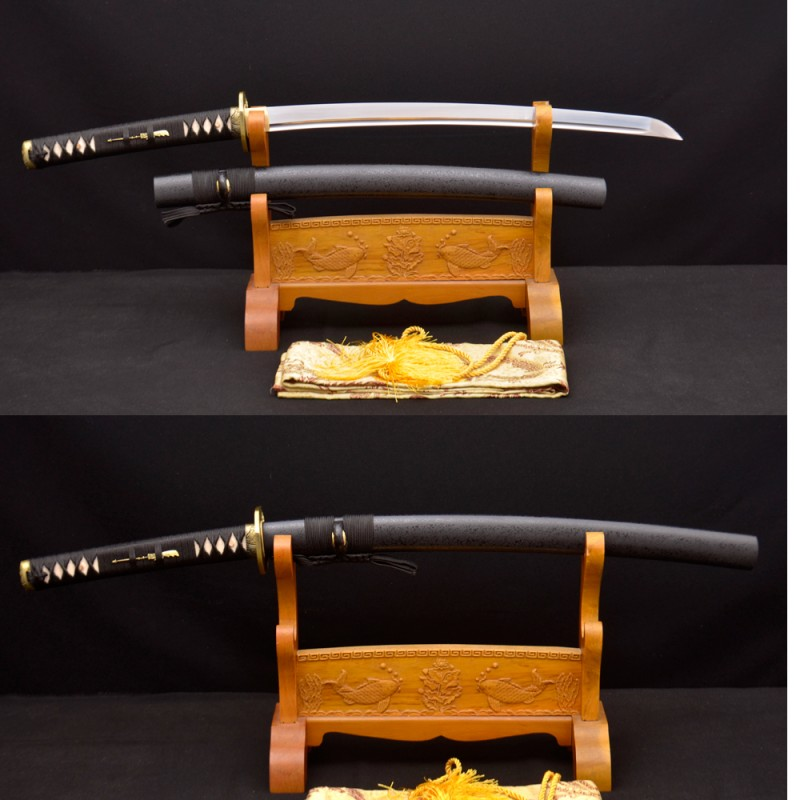 HAND MADE KO-KATANA JAPANESE SAMURAI SWORD 1095 HIGH CARBON STEEL