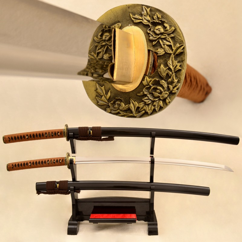 Japanese katana swords handmade 1095 high carbon steel blade samurai sword store for sale