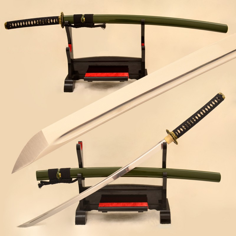 1095 high carbon steel katana - Japanese samurai dragon swords For Sale Handmade