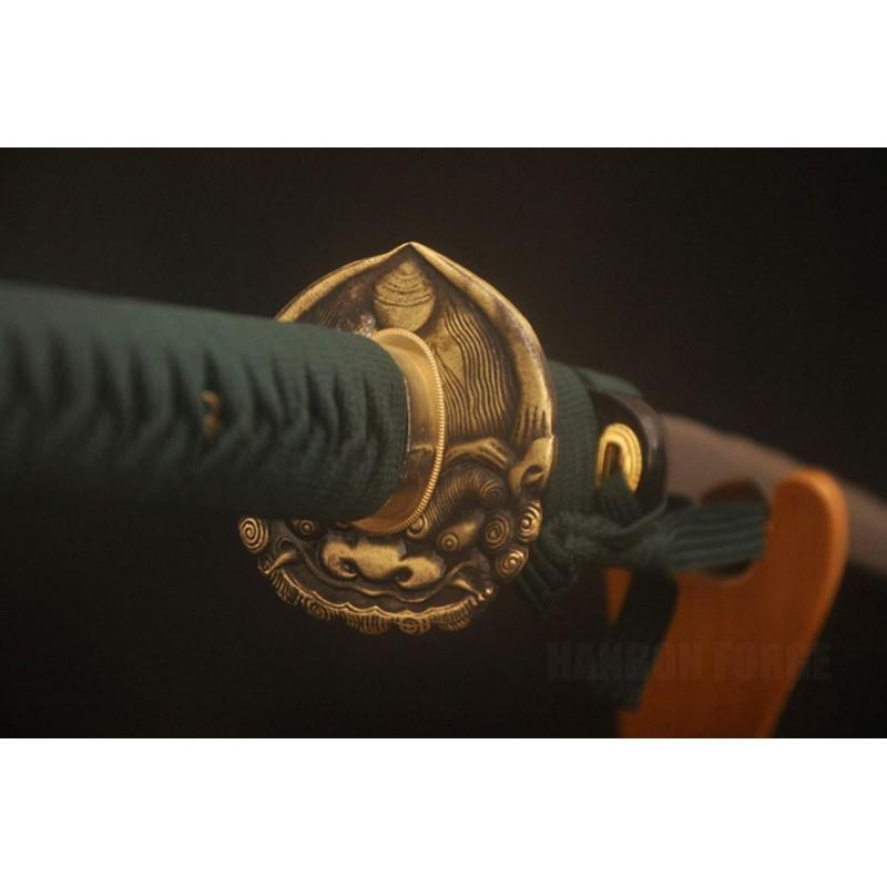 Traditional Hand Made Japanese Nodachi Samurai Sword 1095 Steel Full Tang Blade