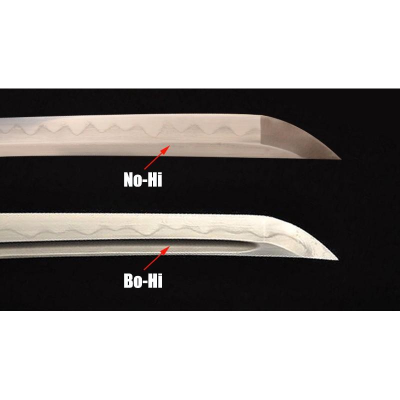 Bo-Hi VS. No-Hi Blade - Parts of a Japanese Katana