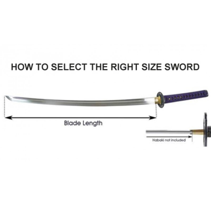 HOW TO SELECT THE RIGHT SIZE SWORD