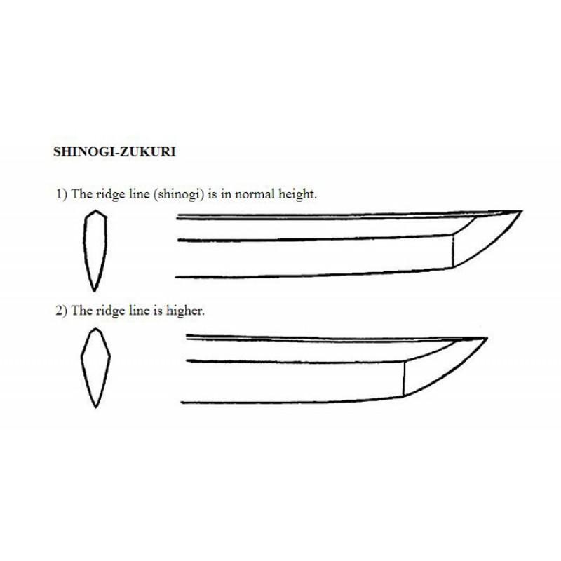 Shinogi zukuri blade