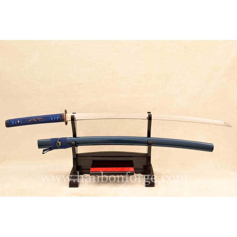 Customized 9260 Spring Steel Alloy Tsuba Katana Japanese Sword