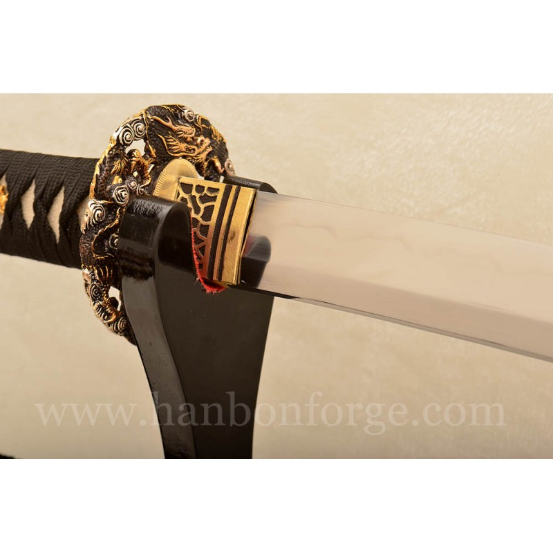 Custom-made Clay Tempered T10 Steel Katana Japanese Samurai Sword