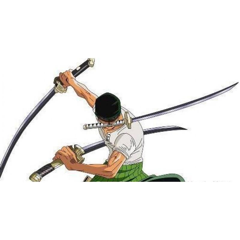 Japanese Sword Using Difference Of Katana And Wakizashi