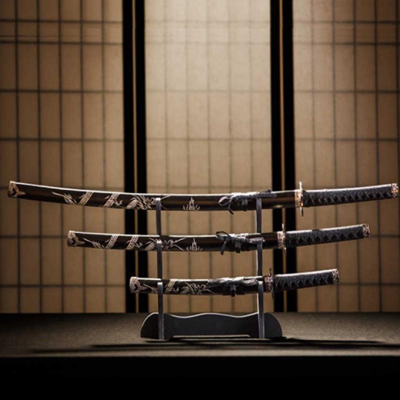 How to display the katana correctly?