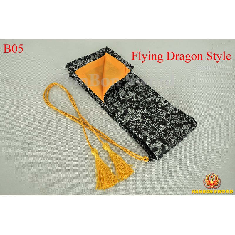 Sword bags for Japanese samurai katana wakizashi tanto-flying dragon style