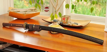 customized sword from hanbon forge